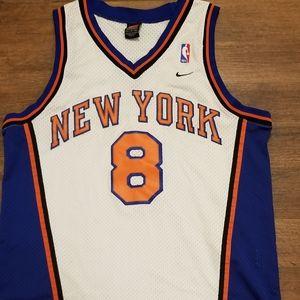 Nike New York Knicks Sprewell jersey L